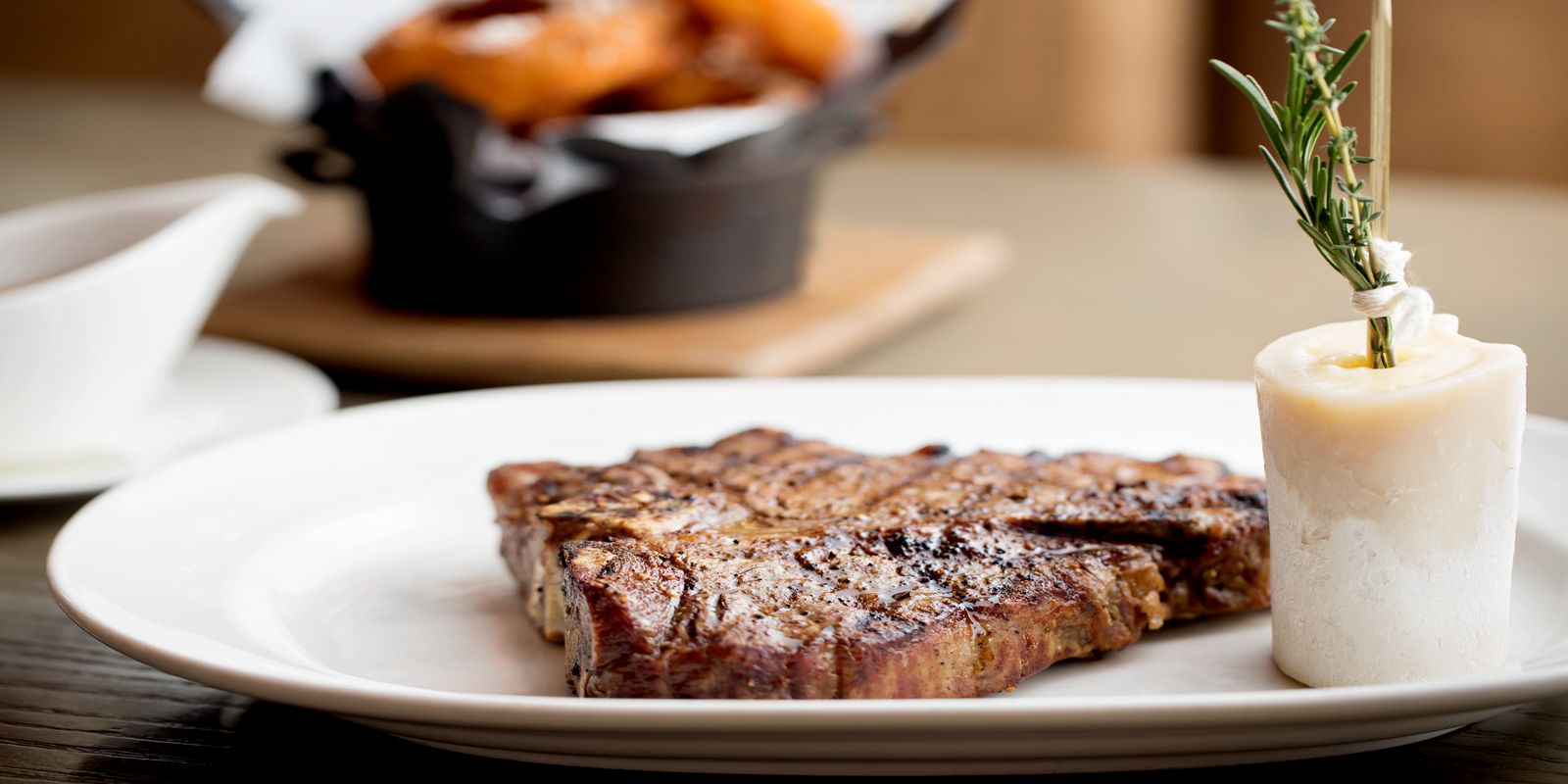 Photograph of our premium steaks that you can order in Mooo Restaurant
