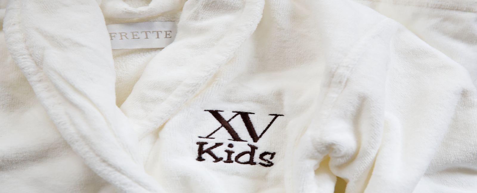 customized frette bathrobes for kids