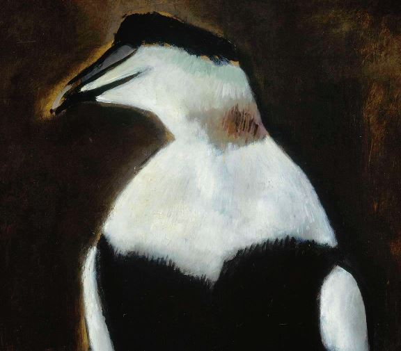 penguin picture from the Music of Fine Arts 2019 exhibit