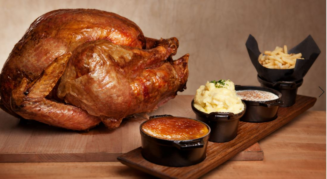 whole turkery and sides- Thanksgiving Meal
