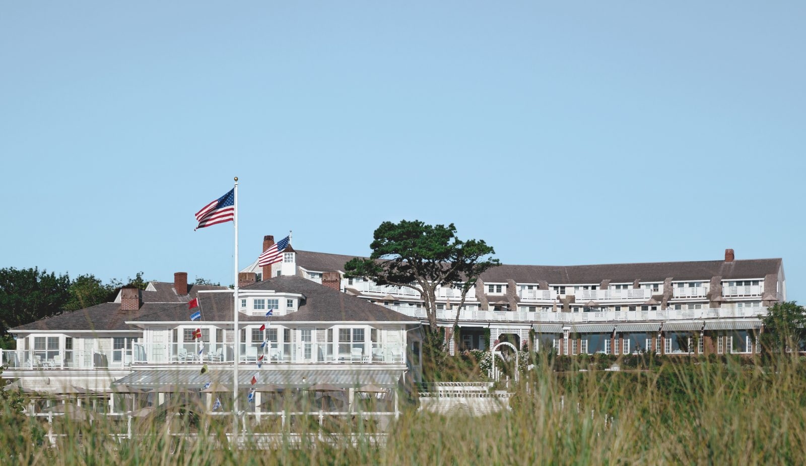 exterior photo of the Chatham Bars Inn on Cape Cod