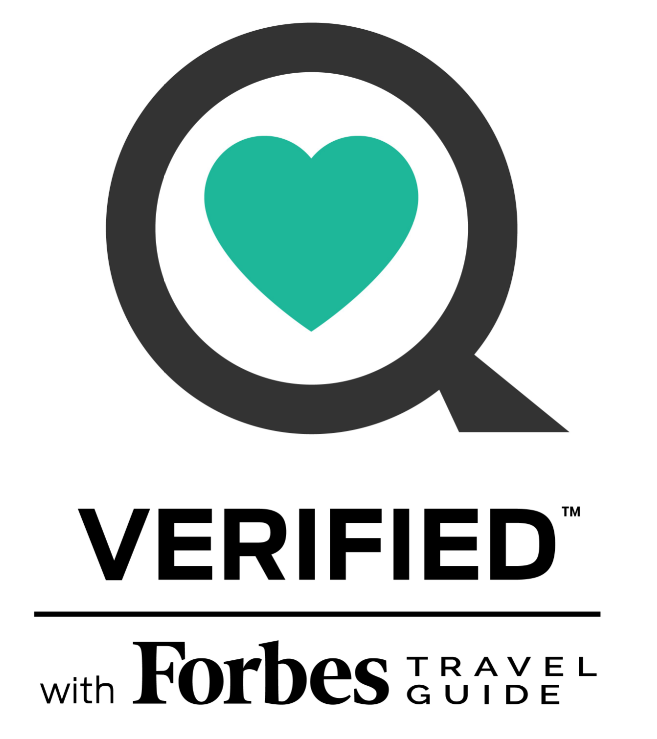 Official Verified Logo by Forbes Travel Guide
